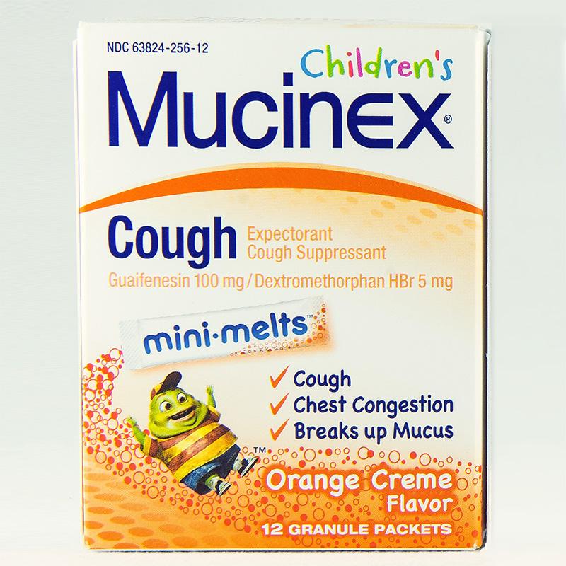 MUCINEX COUGH FOR KIDS MINI-MELTS