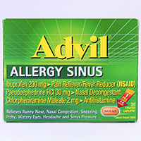 ADVIL ALLERGY SINUS
