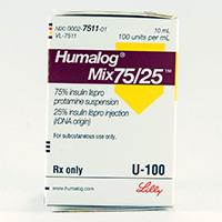 HUMALOG MIX75/25