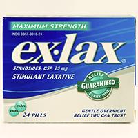 EX-LAX MAXIMUM STRENGTH