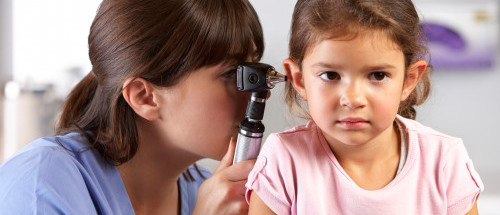 child ear exam