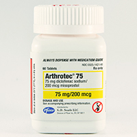 Arthrotec 75 Dosage Rx Info Uses Side Effects