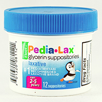 PEDIA-LAX GLYCERIN SUPPOSITORIES