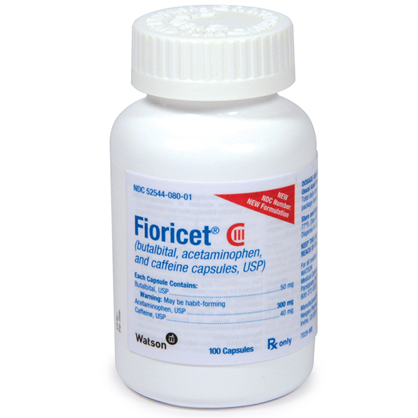 Butalbital/Acetaminophen/Caffeine Capsules