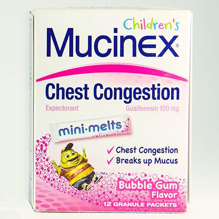 JUNIOR STRENGTH MUCINEX MINI-MELTS