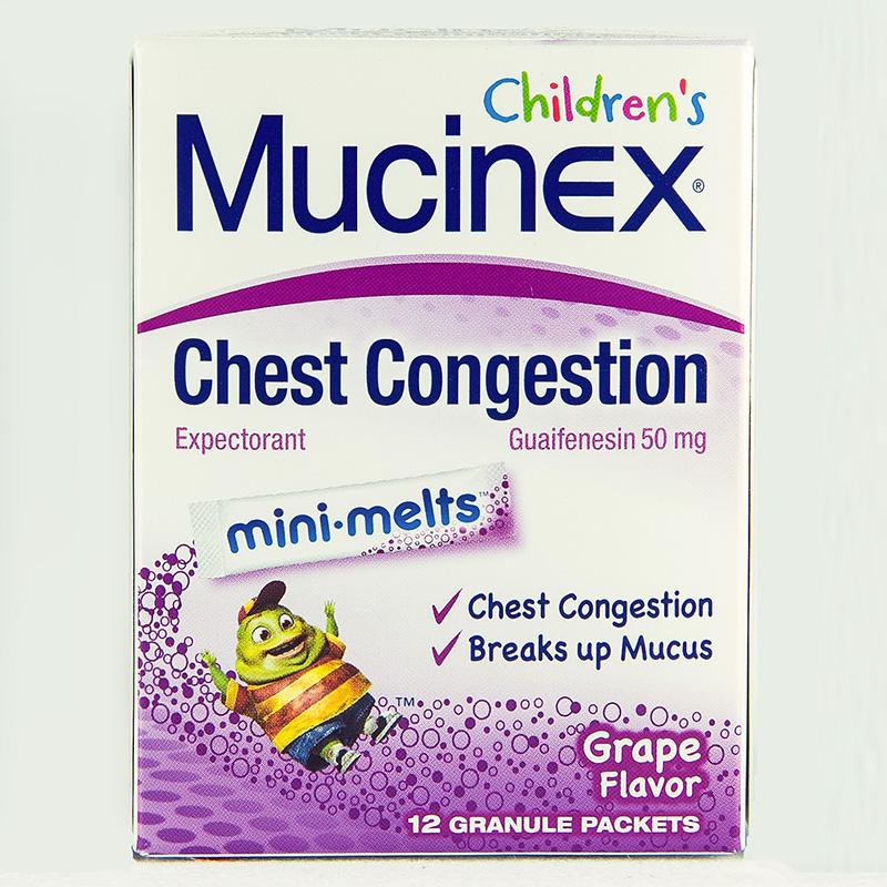 CHILDREN'S MUCINEX MINI-MELTS