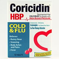 CORICIDIN HBP COLD & FLU