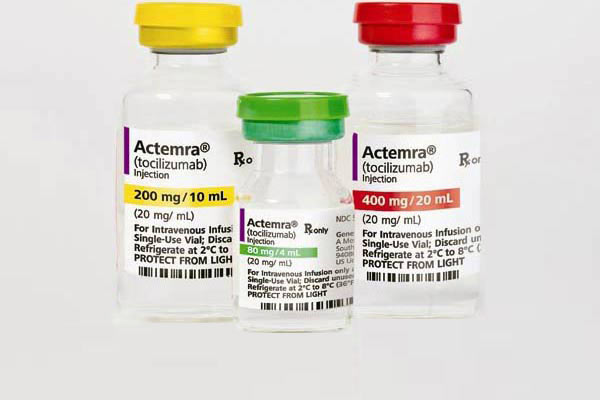 Indication(s): Moderately-to severely-active rheumatoid arthritis in patients who have had an inadequate response to ≥1 TNF blocker. May be used with methotrexate or DMARDs.