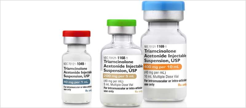 Generic Equivalent to Kenalog-40 Injection Now Available - MPR