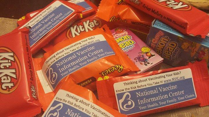 Anti-Vaccination Messages with Your Treats?