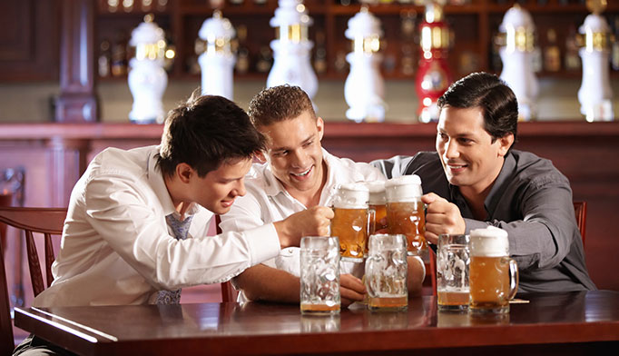 Men experience higher rates of alcohol-related deaths and hospitalizations than women, according to the CDC. Drinking alcohol increases risk for mouth, throat, esophagus, liver and colon cancers. It also interferes with testicular function and hormone production.