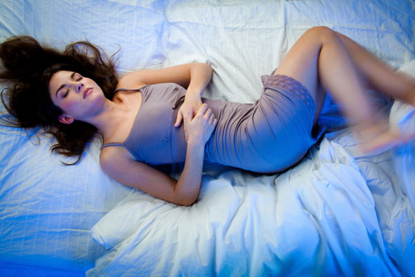 Restless leg syndrome is characterized by an unpleasant creeping sensation, often originating in the lower legs and associated with aches and pains throughout the legs. This often causes difficulty initiating sleep and is relieved by moving the leg by walking or kicking. Abnormalities in the neurotransmitter dopamine have often been associated with RLS. Treatment is with sleep medications to help correct the underlying dopamine abnormality, along with a medicine to promote sleep continuity.