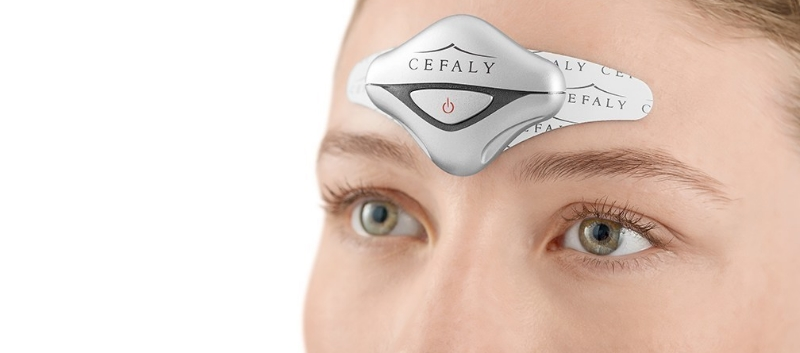 Cefaly smaller anti-migraine device