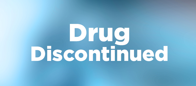 Drug discontinued-text