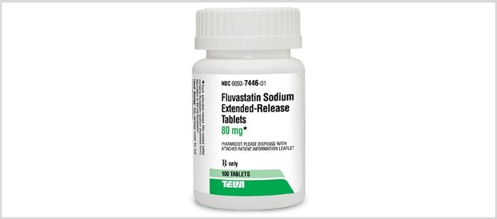 Fluvastatin Bottle