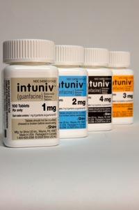 INTUNIV (guanfacine) 1mg, 2mg, 3mg, 4mg ext-rel tablets by Shire