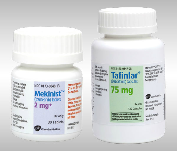 MEKINIST (trametinib) tablets and TAFINLAR (dabrafenib) capsules Approved for Combination Therapy