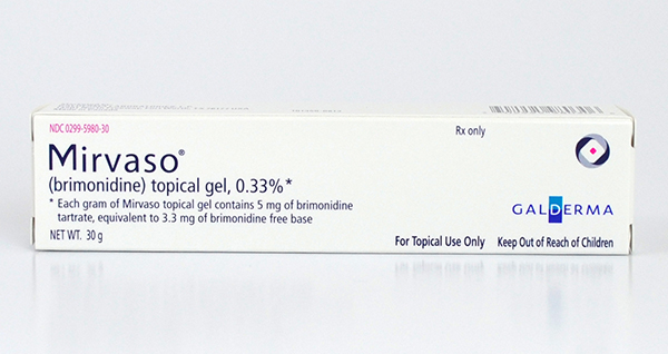 MIRVASO (brimonidine) 0.33% Topical Gel