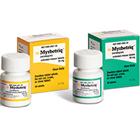 MYRBETRIQ (mirabegron) 25mg and 50mg extended-release tablets by Astellas