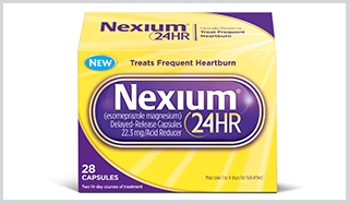 Nexium 24HR, New OTC Drug for Heartburn