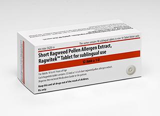 FDA Approves Short Ragweed Pollen Allergen SL Tab