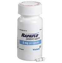 RAPAFLO (Silodosin) 4mg, 8mg capsules by Watson