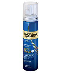 Men's Rogaine Unscented Topical Foam available