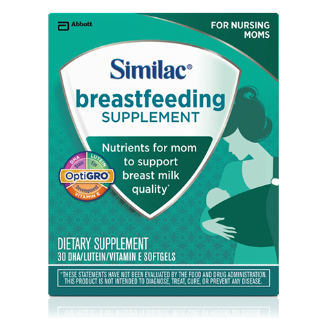Similac Launches Breastfeeding Supplement with Key Nutrients