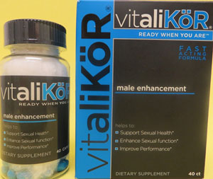 Vitalikor Sex Supplement Found to Contain Hidden Ingredients