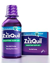 ZZZQUIL (diphenhydramine HCl) 50mg liquid and liquicaps by Procter & Gamble