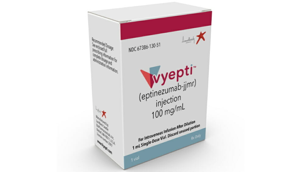 Vyepti Now Available for Preventive Treatment of Migraine - MPR