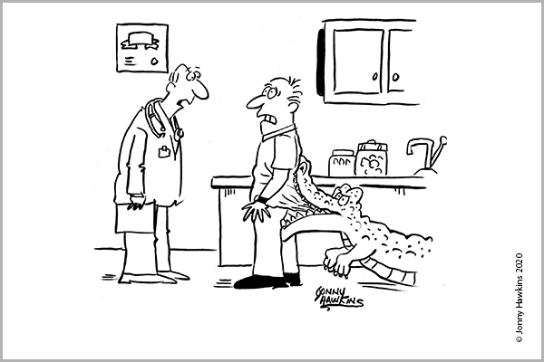 Medical Cartoon Caption Contest Archive Winners Read Them Now